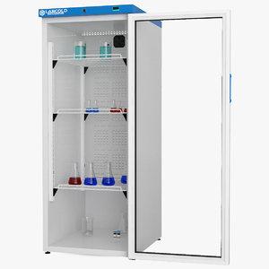 3D labcold cooled incubator 340l