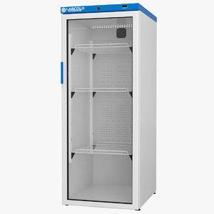 3D labcold cooled incubator 340l model