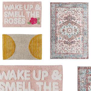 bath rugs pack 3 model