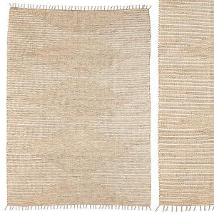 3D connected stripe rag rug model