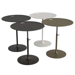 rise table 3D model