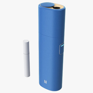 iqos lil solid blue model