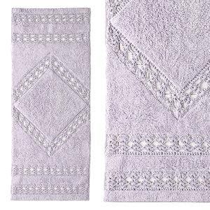 crochet inset runner bath 3D