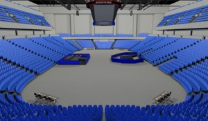 arena stadium model