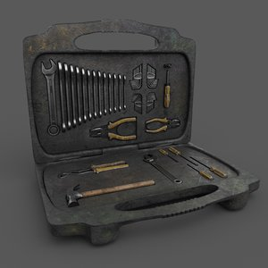3D tools bag model