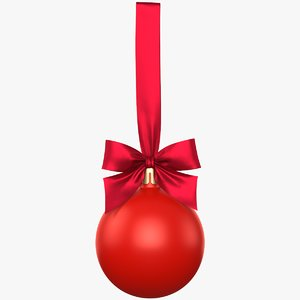christmas ball 01 model