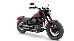 3D harley davidson motorcycle