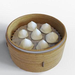 3D dumpling