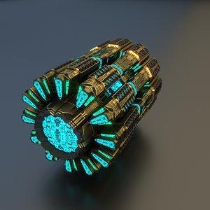 engine motor 3D