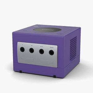 3D nintendo gamecube cube