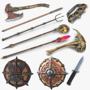 3D weapons v3 model