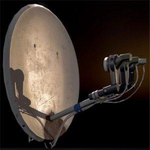 home satellite dish model