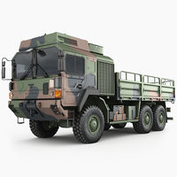 European military truck MAN HX61