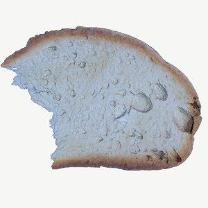 bread slice hy 3D model