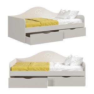 3D soft bed children s
