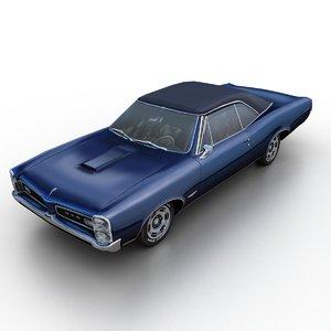 1966 pontiac gto 3D