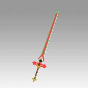 genshin impact kaeya 3D model