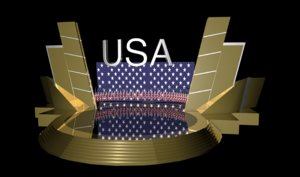 3D model stage production video