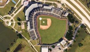 3D sport baseball university model