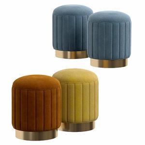 3D stool allegra model