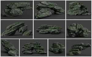 rocks height games model
