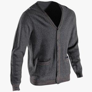 3D realistic men s sweater model