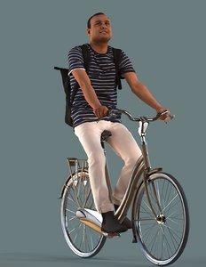 bike man 3D model