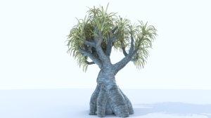 3D model plant scifi