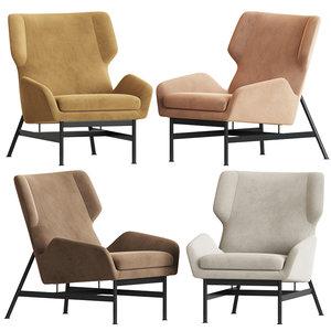 nicci nouveau armchair okha 3D