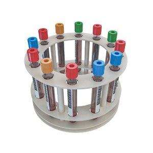 blood sample test tubes 3D