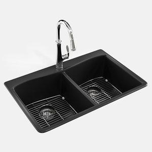 kennon kitchen sink 3D
