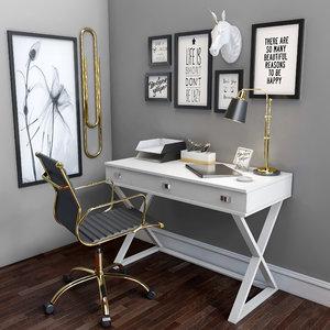 3D offices model
