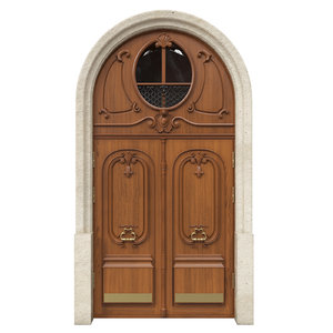 3D classic door