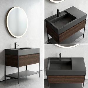 vanity unit elen designers 3D model