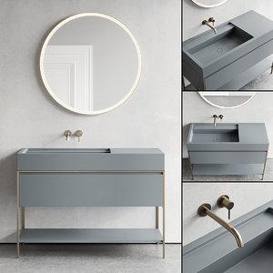 3D vanity unit elen designers