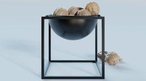 3D nuts frame