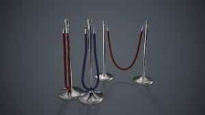 3D rope pbr model