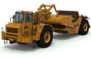 scraper truck 3D