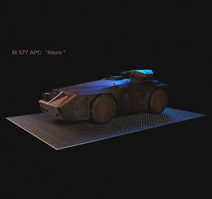 3D m577 apc model