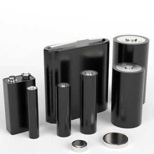 3D volts battery