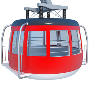 3D cableway cable way