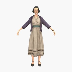 3D grandmother v3