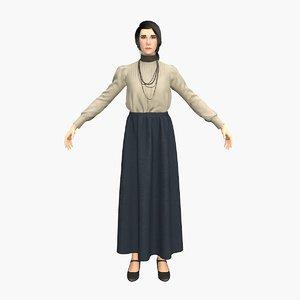 doctor anna 3D model