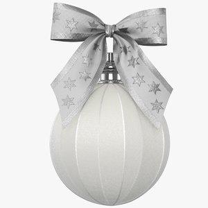 3D christmas ball 03