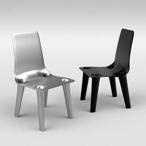 3D chair nickel
