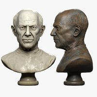 Picasso Bust