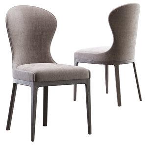 flexform chair 3D