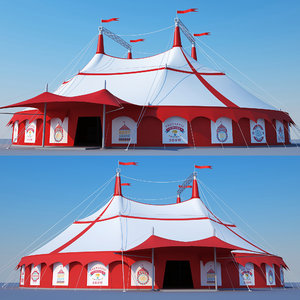 tent circus model