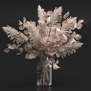 3D bouquet