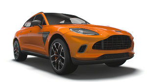 3D aston martin dbx north america